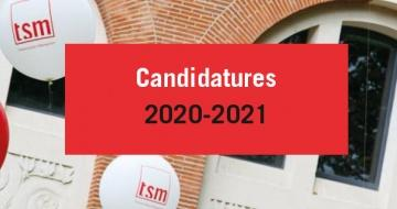 Candidatures 2020-2021